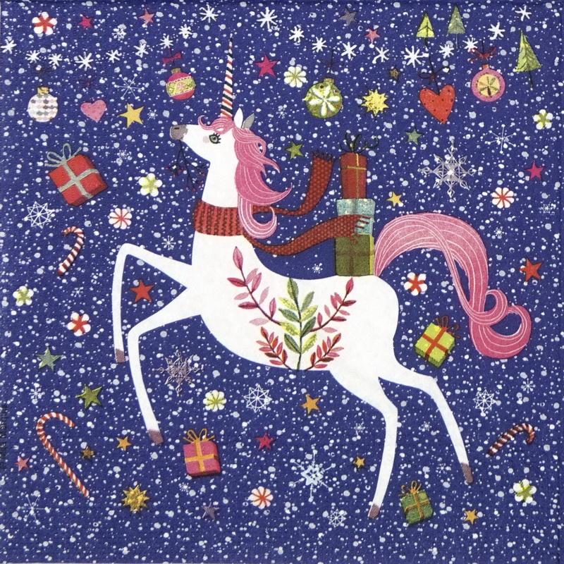 Happy Unicorn Napkins