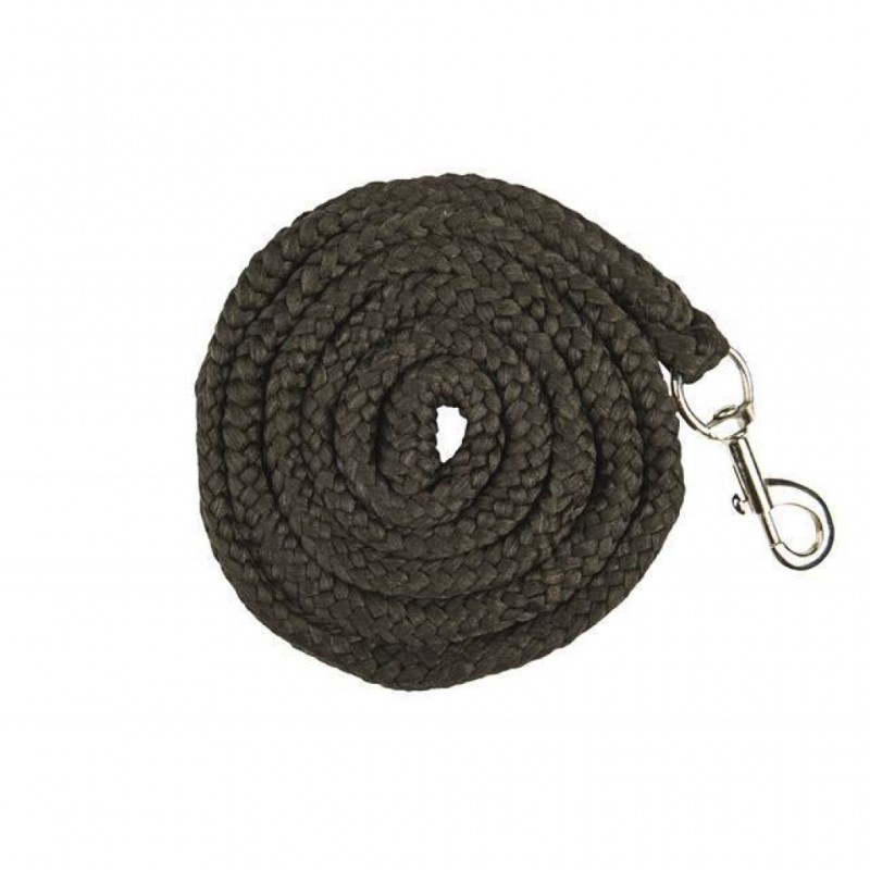 HKM Leading Rope With Clip Brussel Black