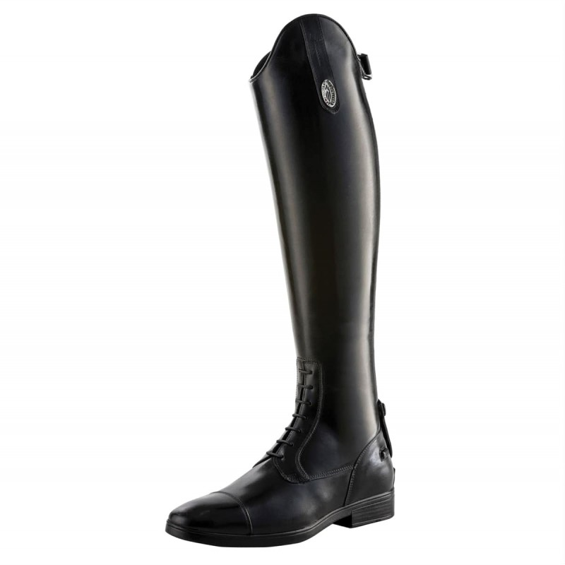 Tricolore Smooth Leather Riding Boots