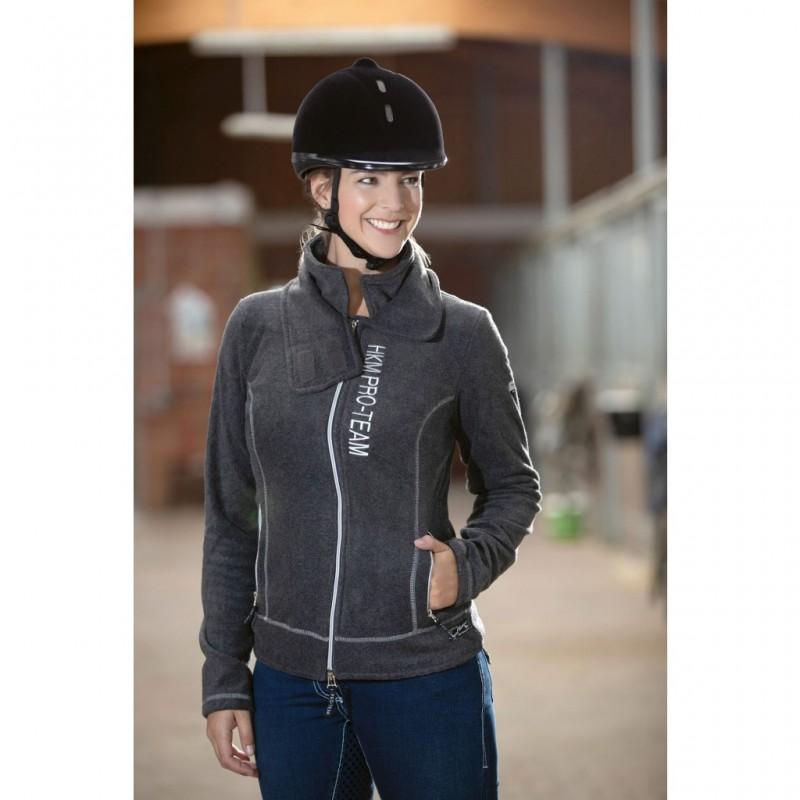 HKM Adjustable Riding Helmet Black